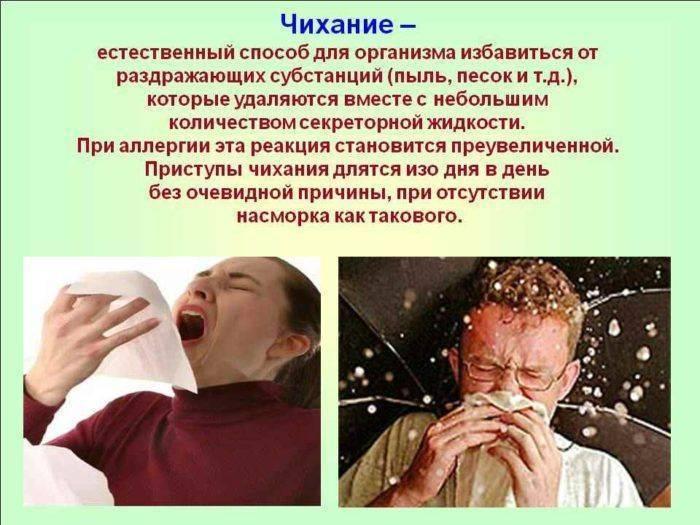 Почему у человека постоянный насморк и чихание: давайте разбираться