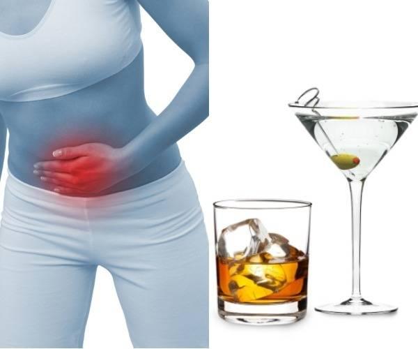 алкоголь при цистите у женщин