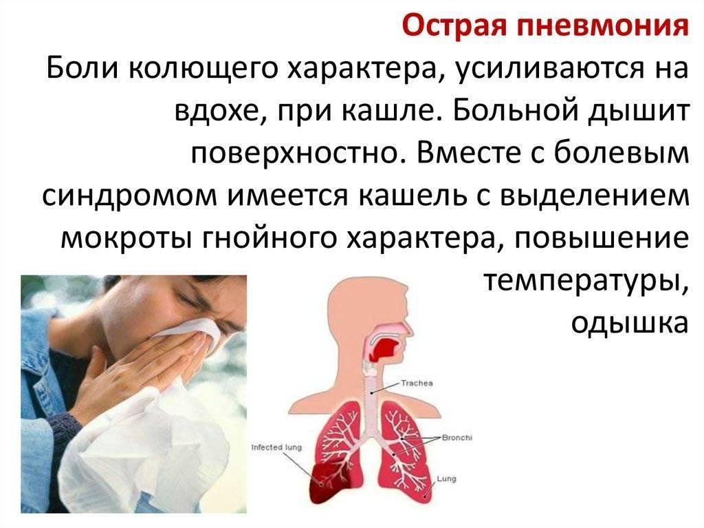 при вдохе кашель почему