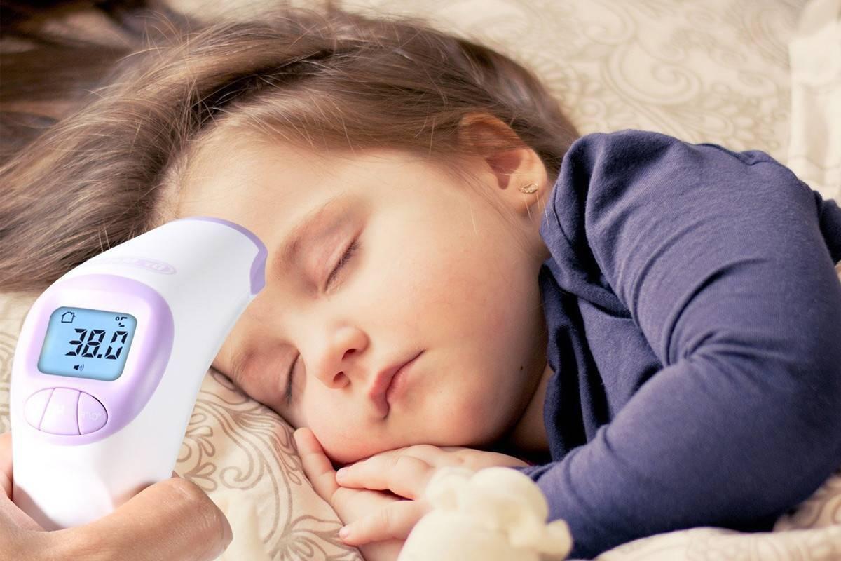 кашель и насморк температура