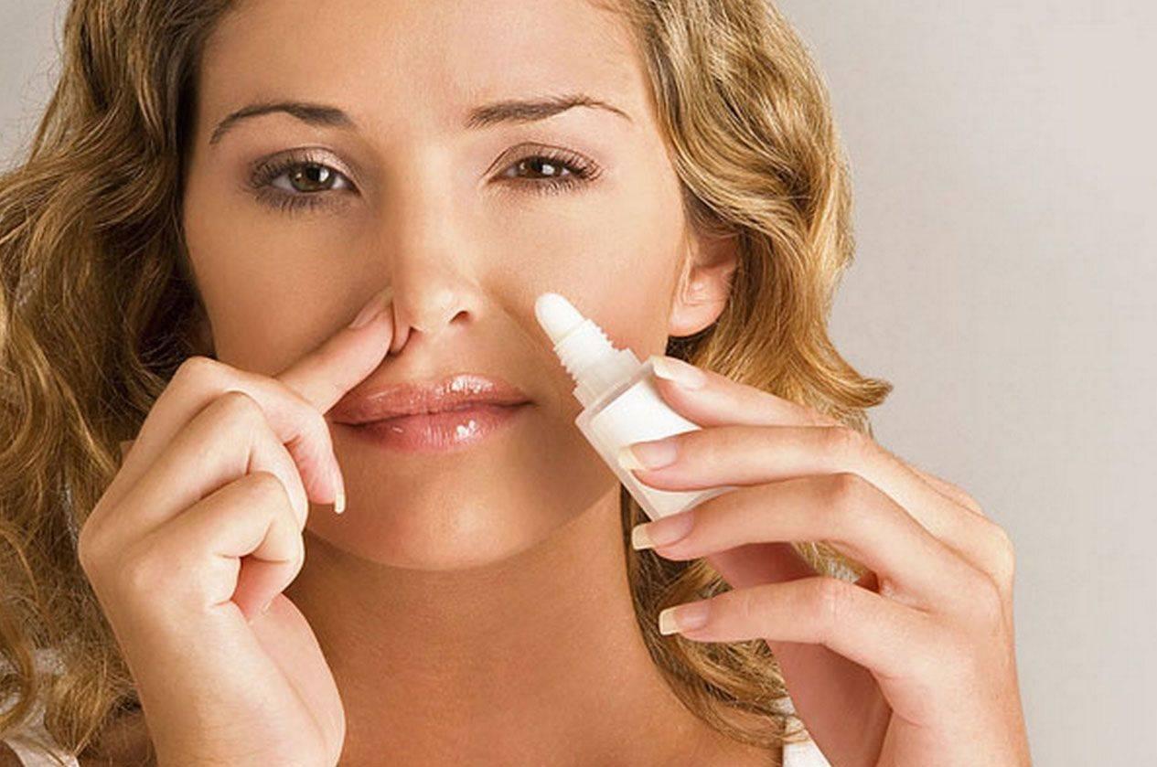 ощущение заложенности носа