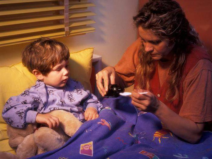 кашель у ребенка по ночам