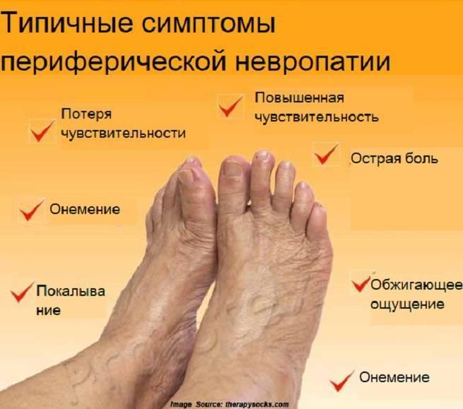 Диабетическая нейропатия. причины, симптомы, диагностика и лечение нейропатии :: polismed.com
