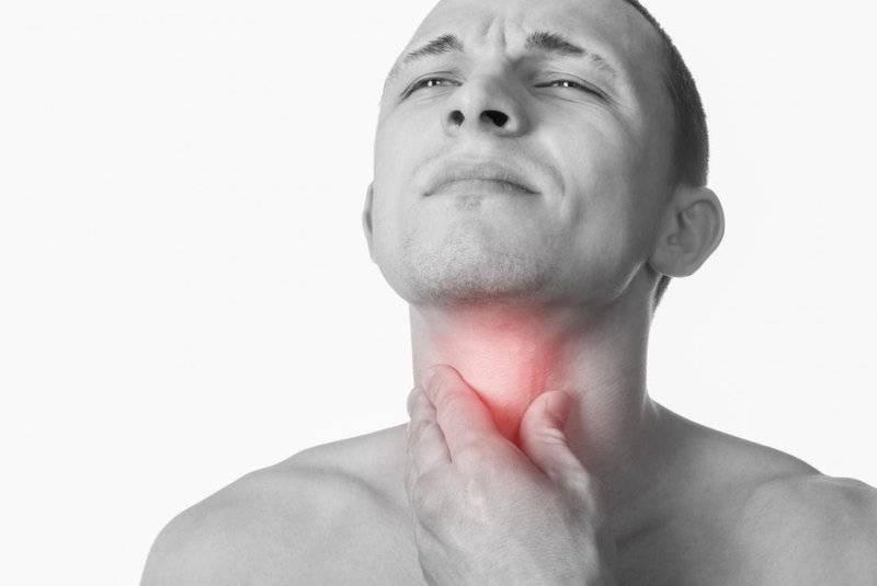 Рак горла у мужчин