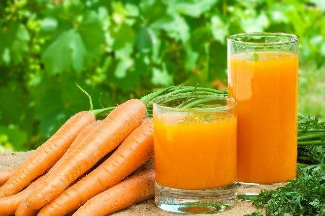как влияет морковный сок на печень