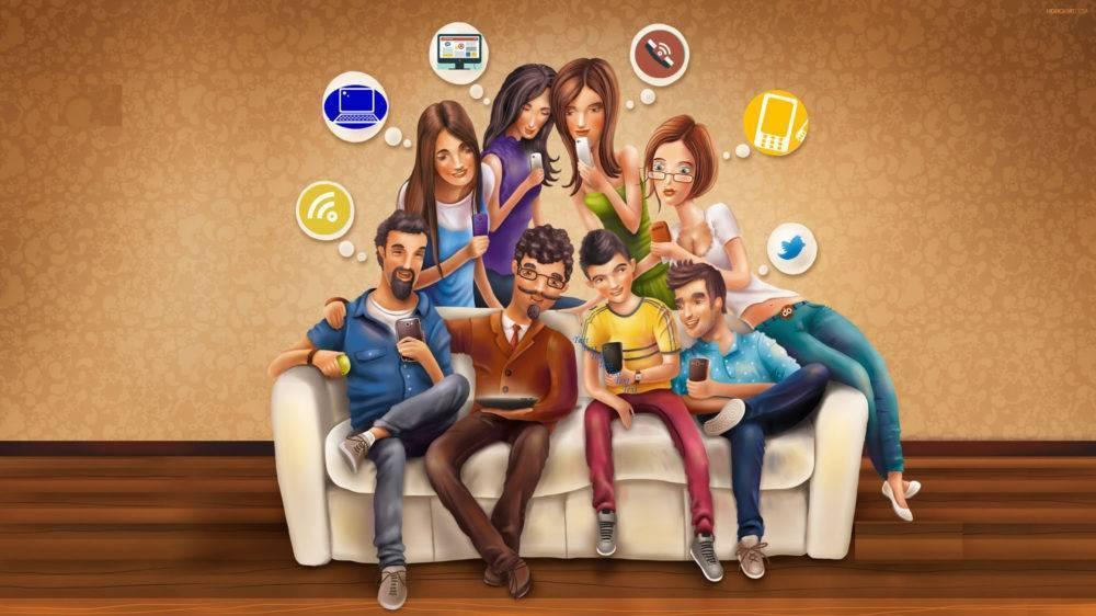 Зависимость от социальных сетей. проблема зависимости от социальной сети. лечение зависимостей