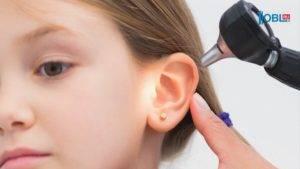 снижение слуха при отите