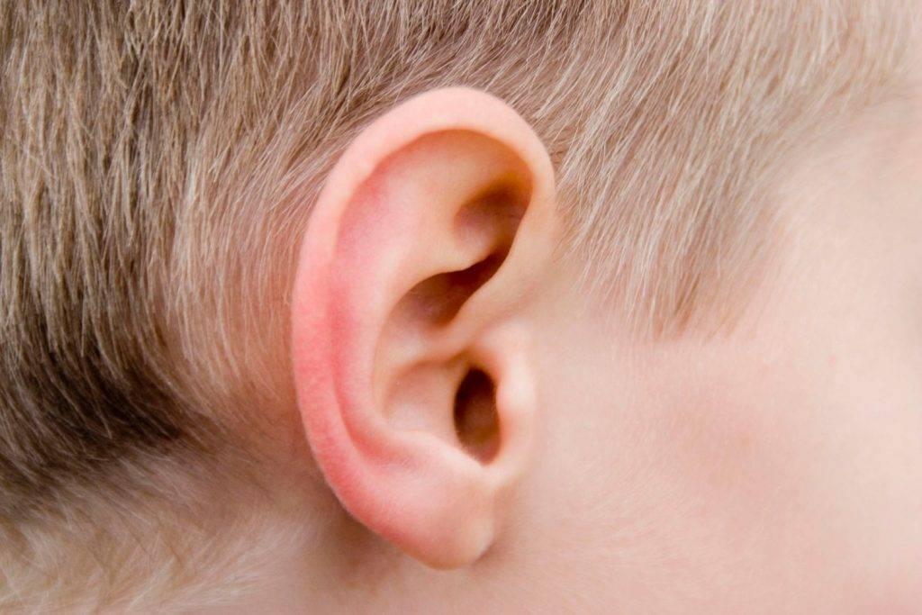 Что делать, если у ребенка покраснело ухо: первая помощь и лечение