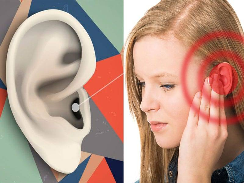 болит ухо при жевании