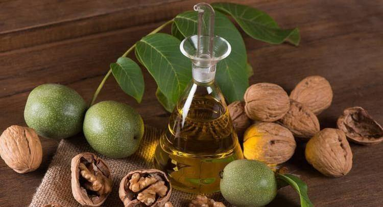 Перегородки грецкого ореха при узловом зобе | про щитовидку