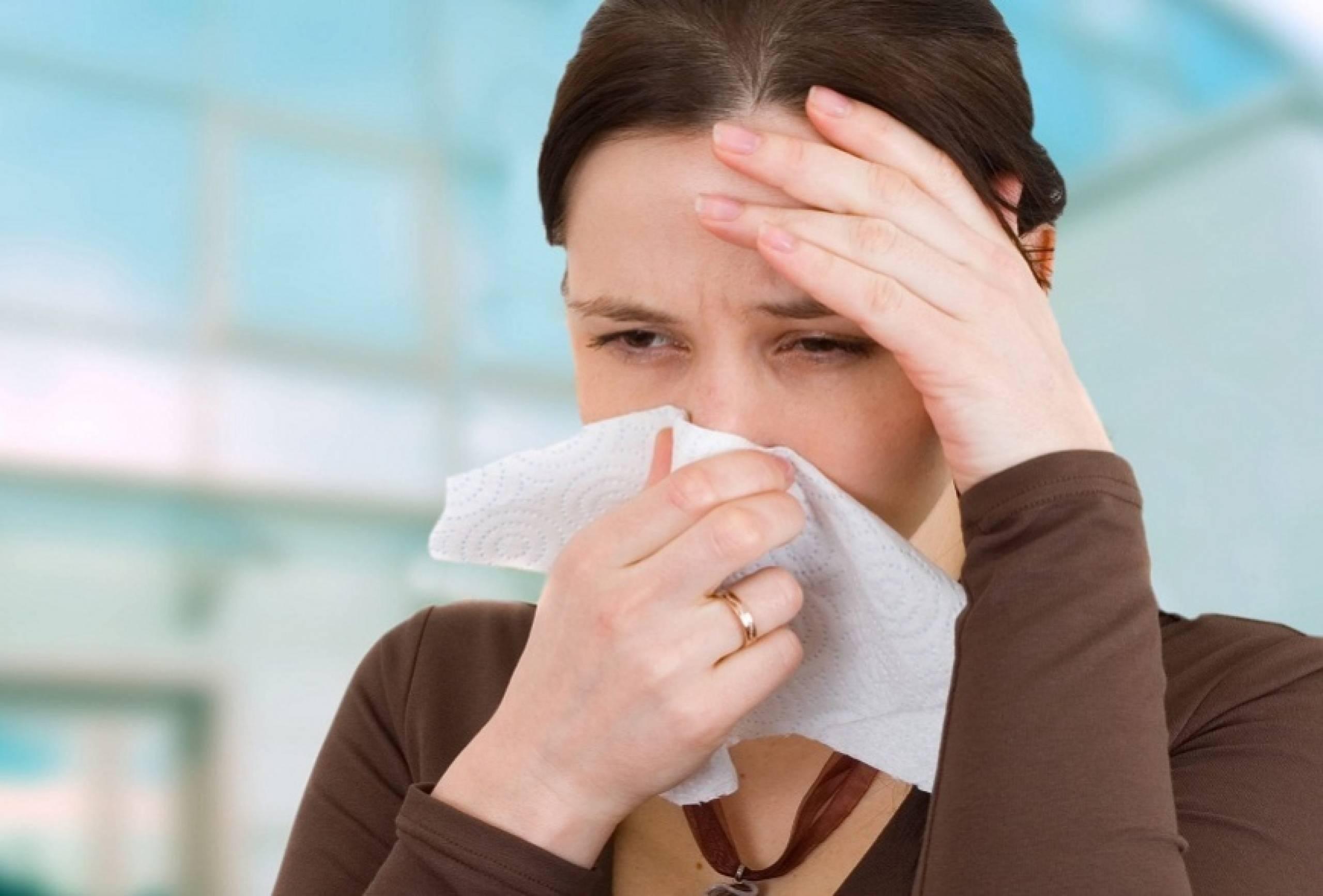 сильный кашель и сильный насморк