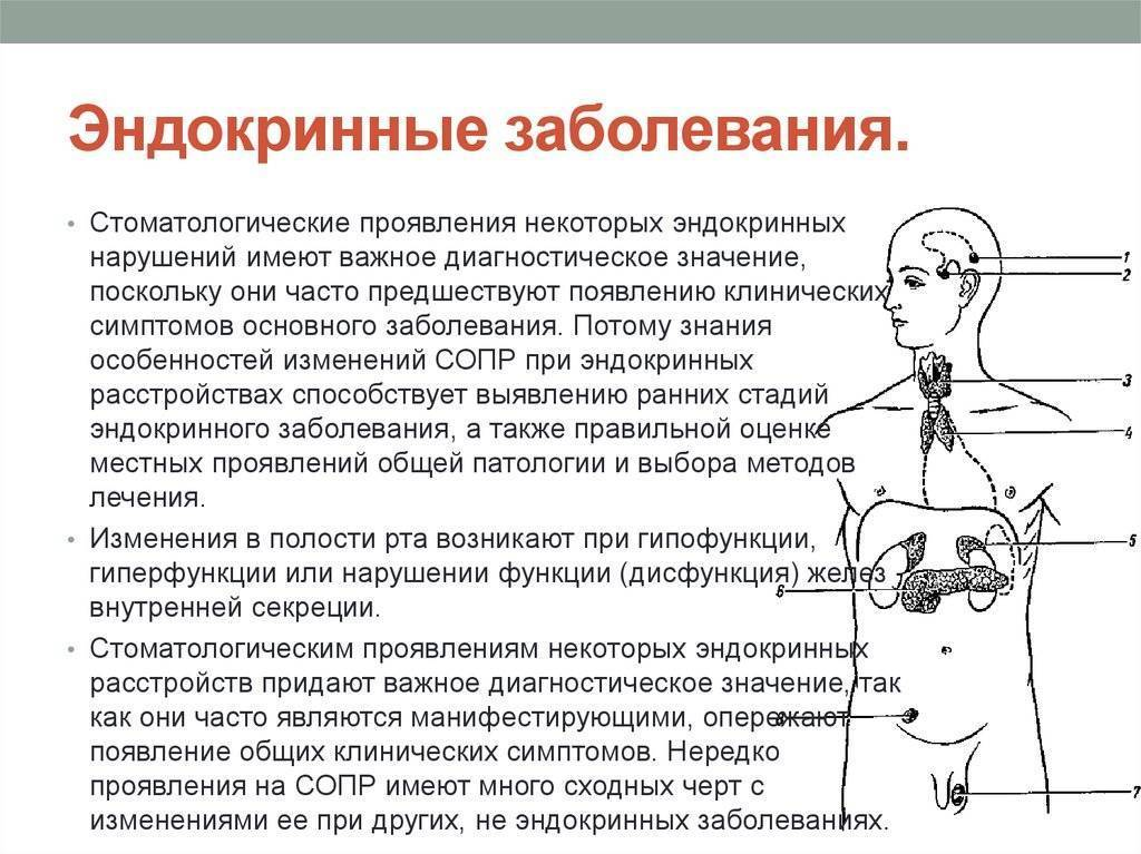 болезни эндокринной системы симптомы