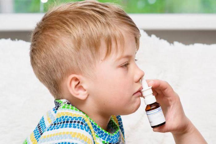 как лечить хронический насморк у ребенка