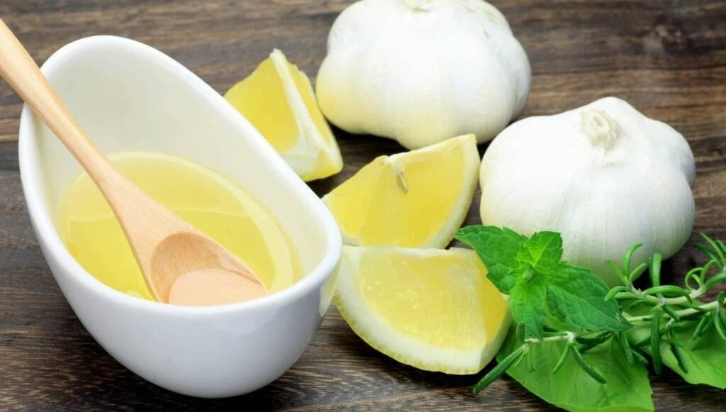рецепт лимона с чесноком от холестерина