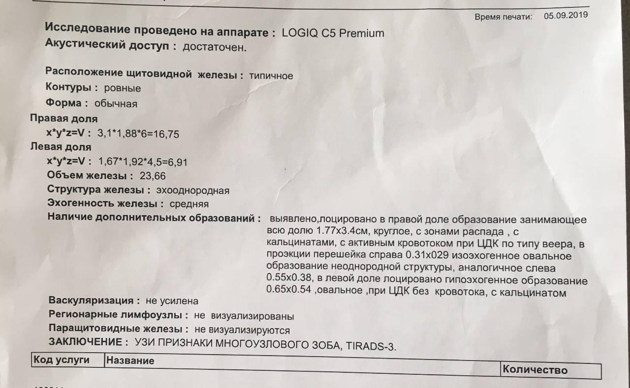 Биопсия щитовидной железы - результаты, проведение | pro shchitovidku