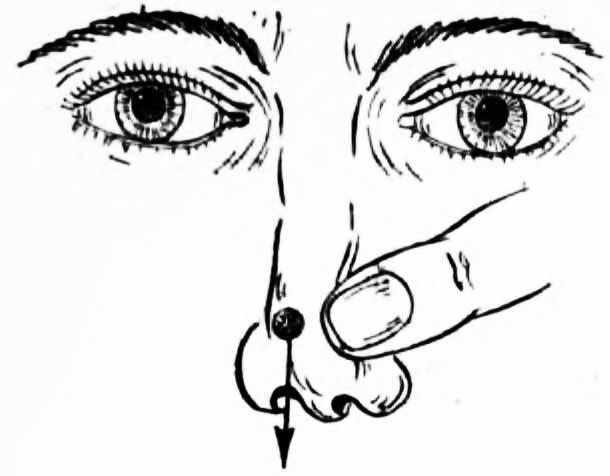 Как у ребенка из носа достать инородное тело