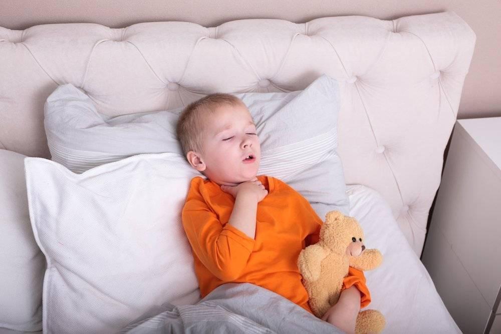 ночной кашель у детей причины