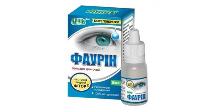 Глазные капли фаурин