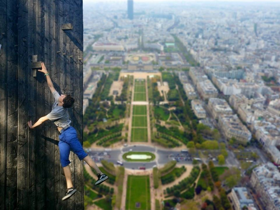 Как самостоятельно побороть страх высоты