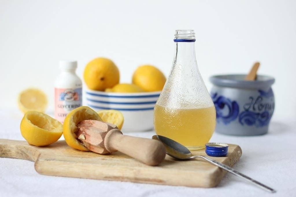 Глицерин, мед и лимон от кашля