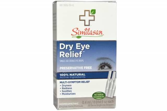 Список лучших глазных капель для улучшения зрения при близорукости