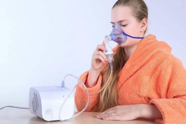 ингаляции в небулайзере при боли в горле