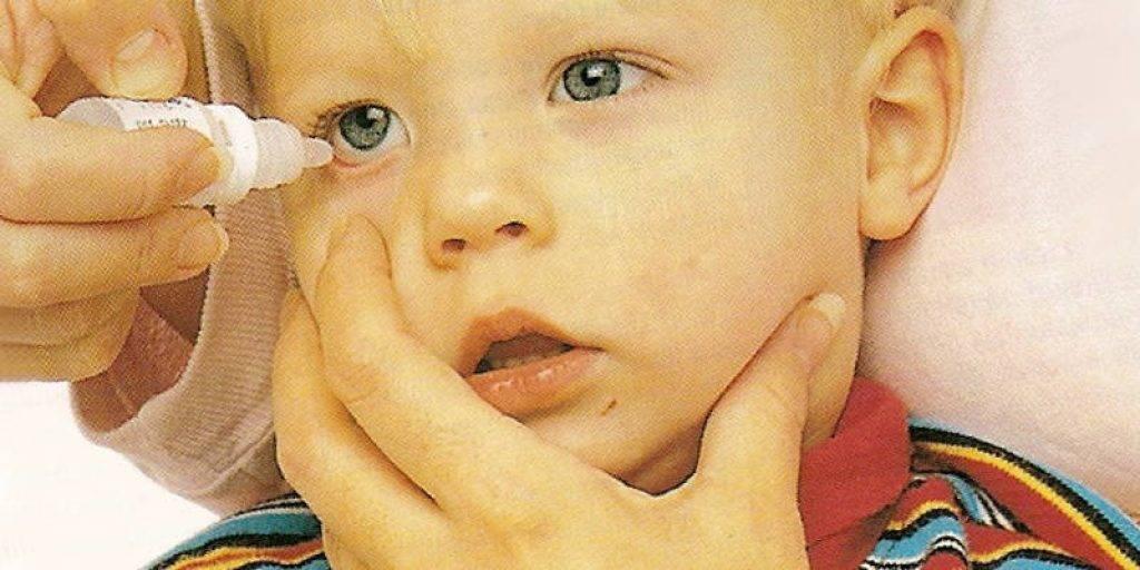 как правильно капать ребенку в глаза