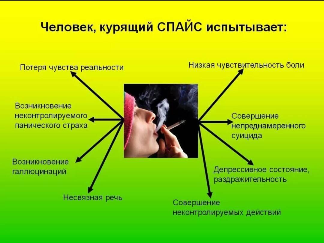 Признаки употребления спайсов и синтетических смесей