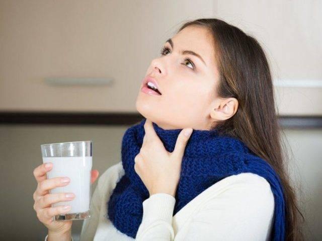 полоскание горла солью при ангине