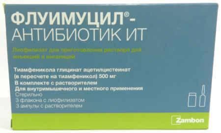 антибиотик при рините