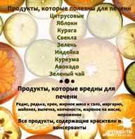 Продукты, полезные для печени - какие фрукты, каши, масло, овощи, орехи и соки самые полезные?