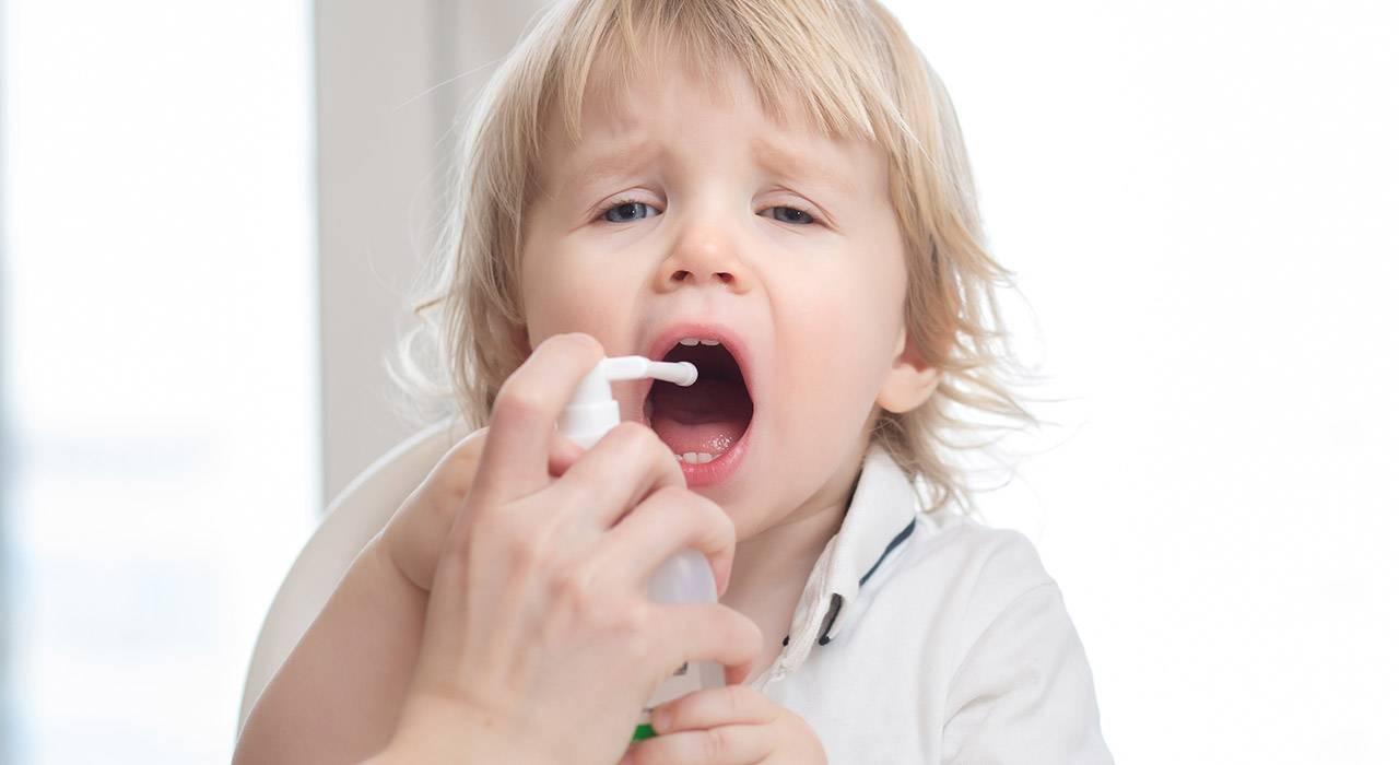 Симптомы ангины у ребенка 4 года
