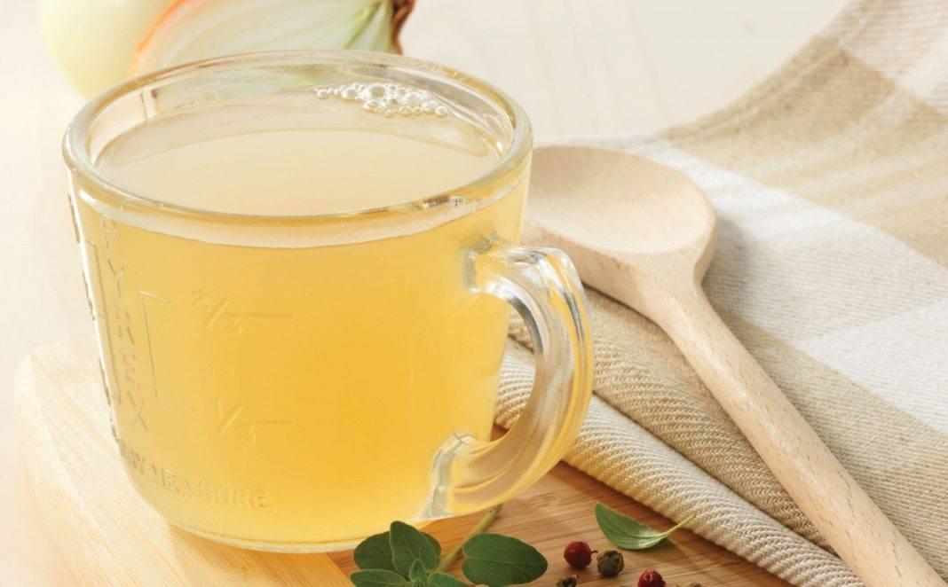 Луковый отвар с медом или сахаром от кашля