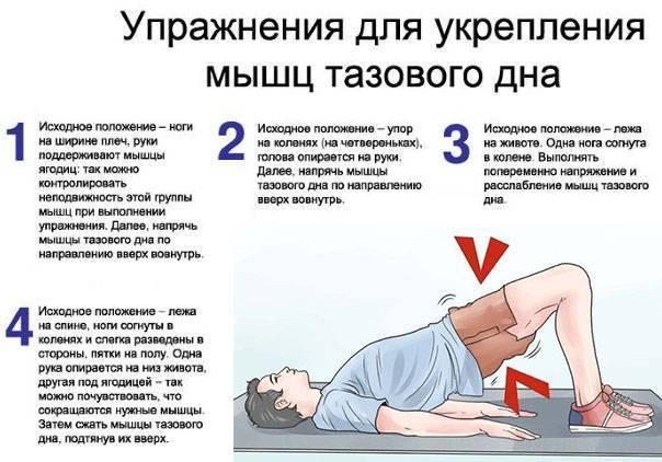 Упражнения от геморроя для женщин