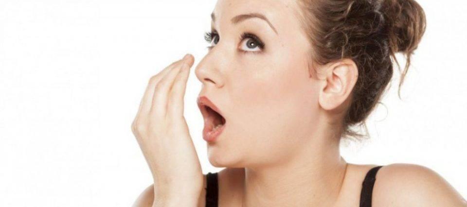 Причины неприятного запаха из носа