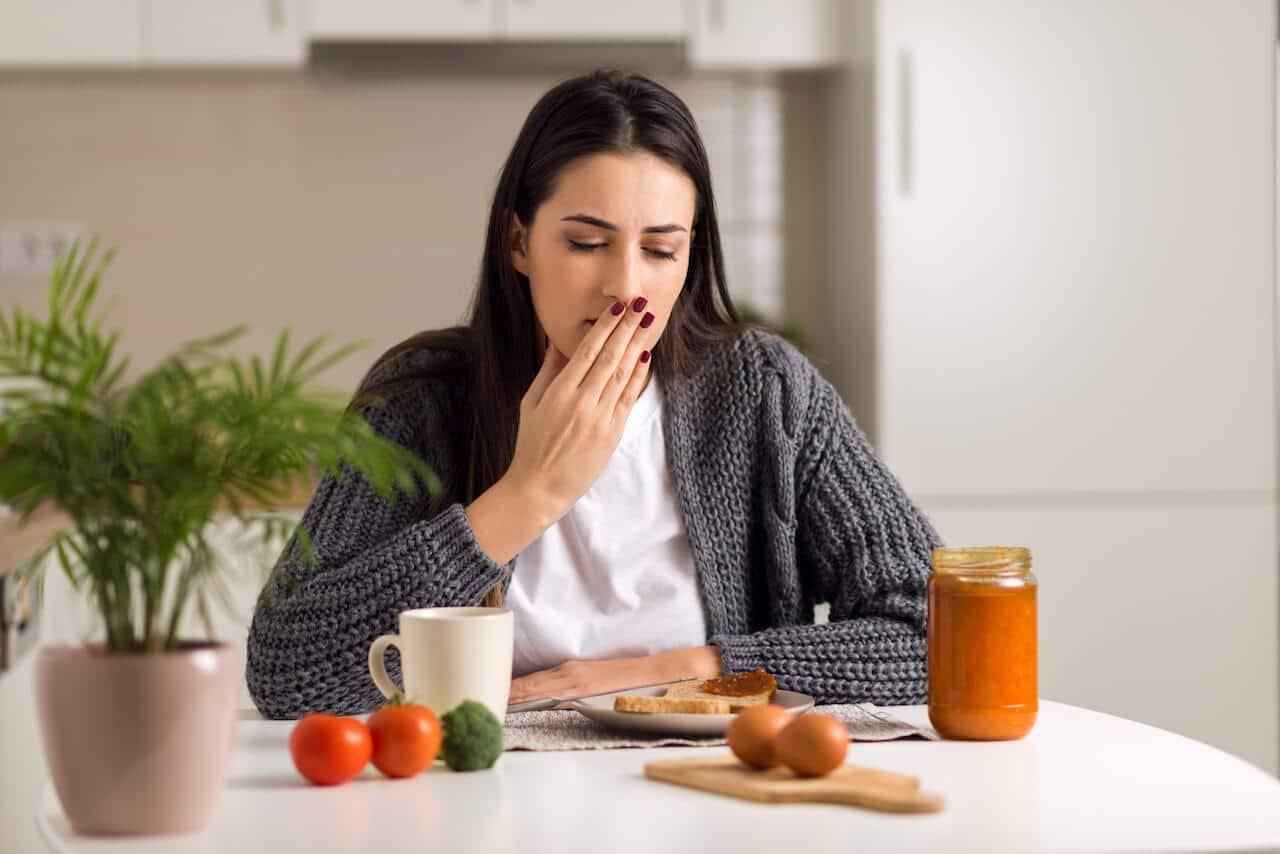 почему начинается кашель после еды