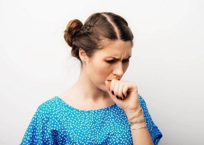 Когда понервничаю появляется кашель