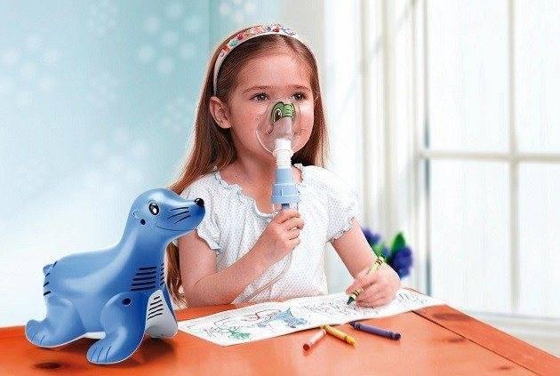 как лечить насморк небулайзером у детей