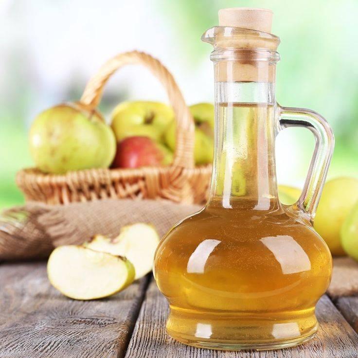 Яблочный уксус при ангине