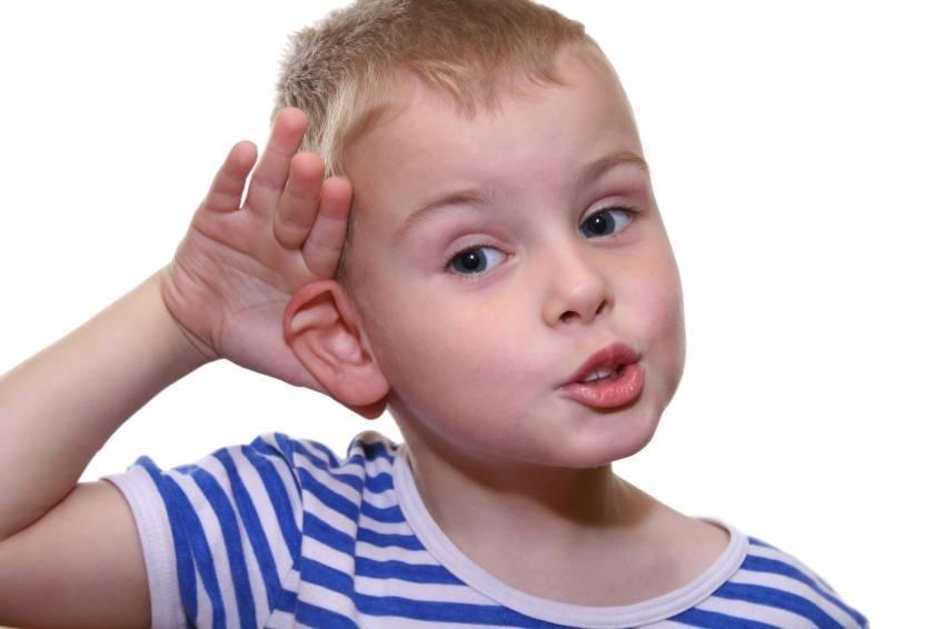 тугоухость у детей симптомы