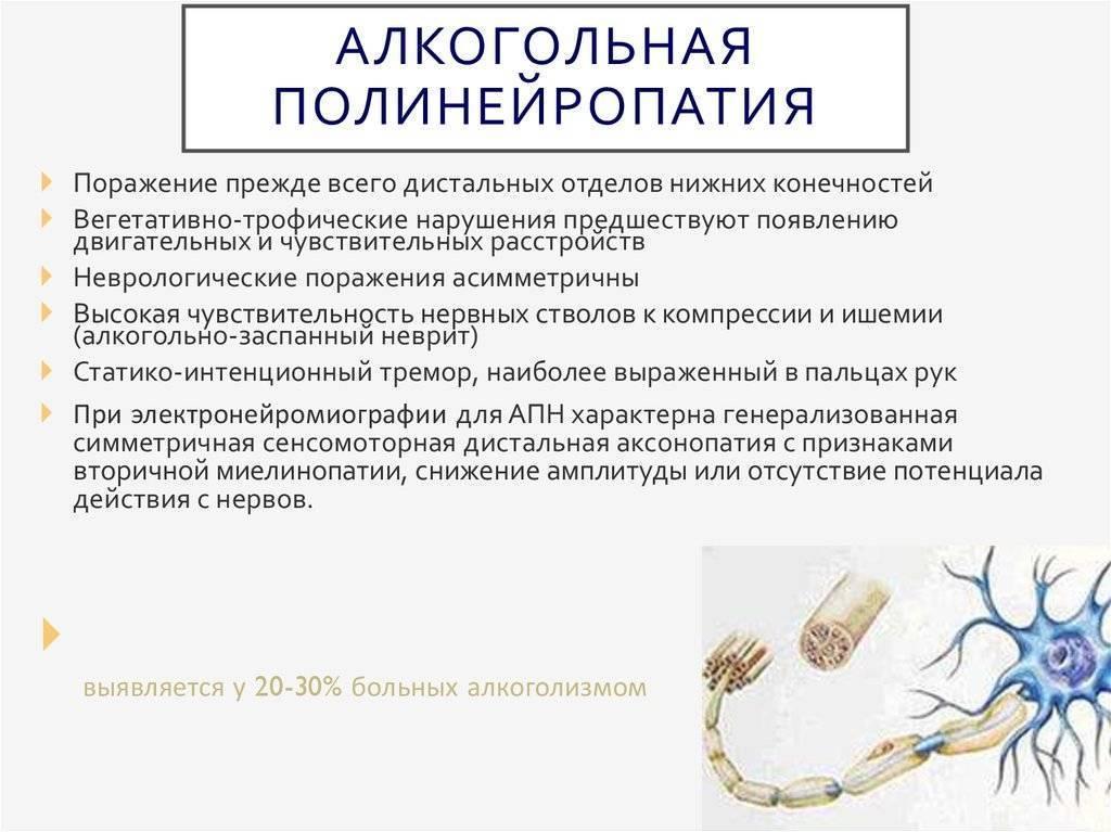 полинейропатия нижних конечностей лечение