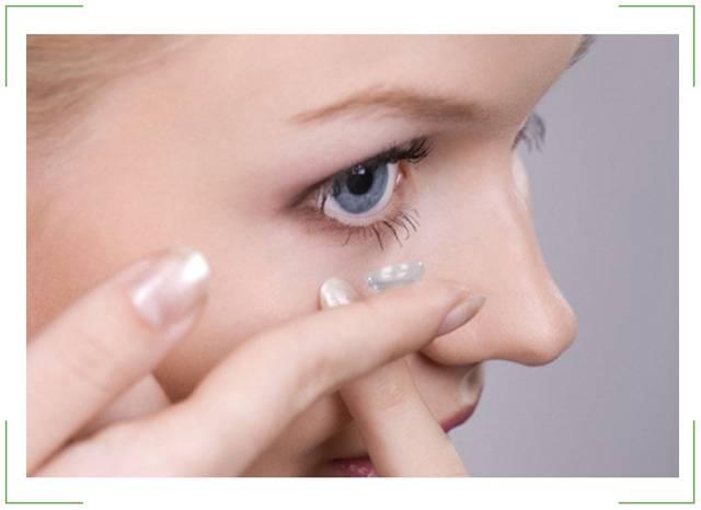 вред контактных линз для глаз