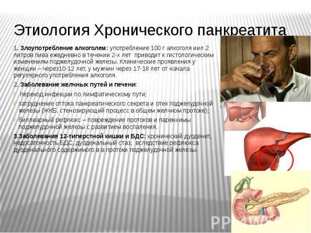 Признаки приступа панкреатита и холецистита