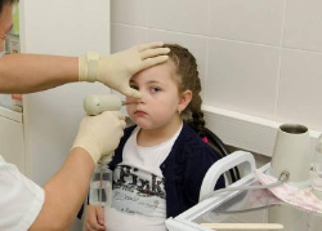 лечение аденоидов у детей лазером