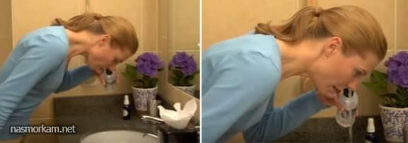 как правильно промывать нос перекисью водорода