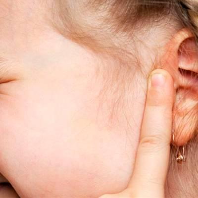 гнойный отит у ребенка 2 года