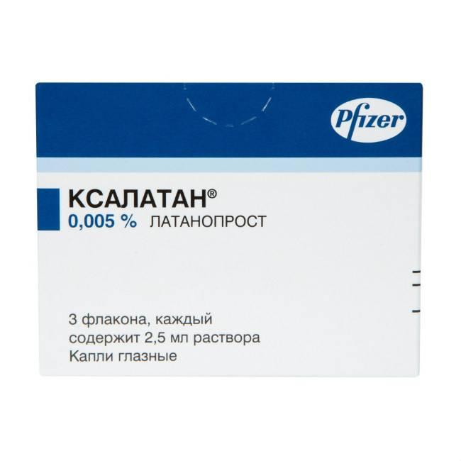 Ксалатан — препарат для глаз. инструкции, показания, отзывы и аналоги