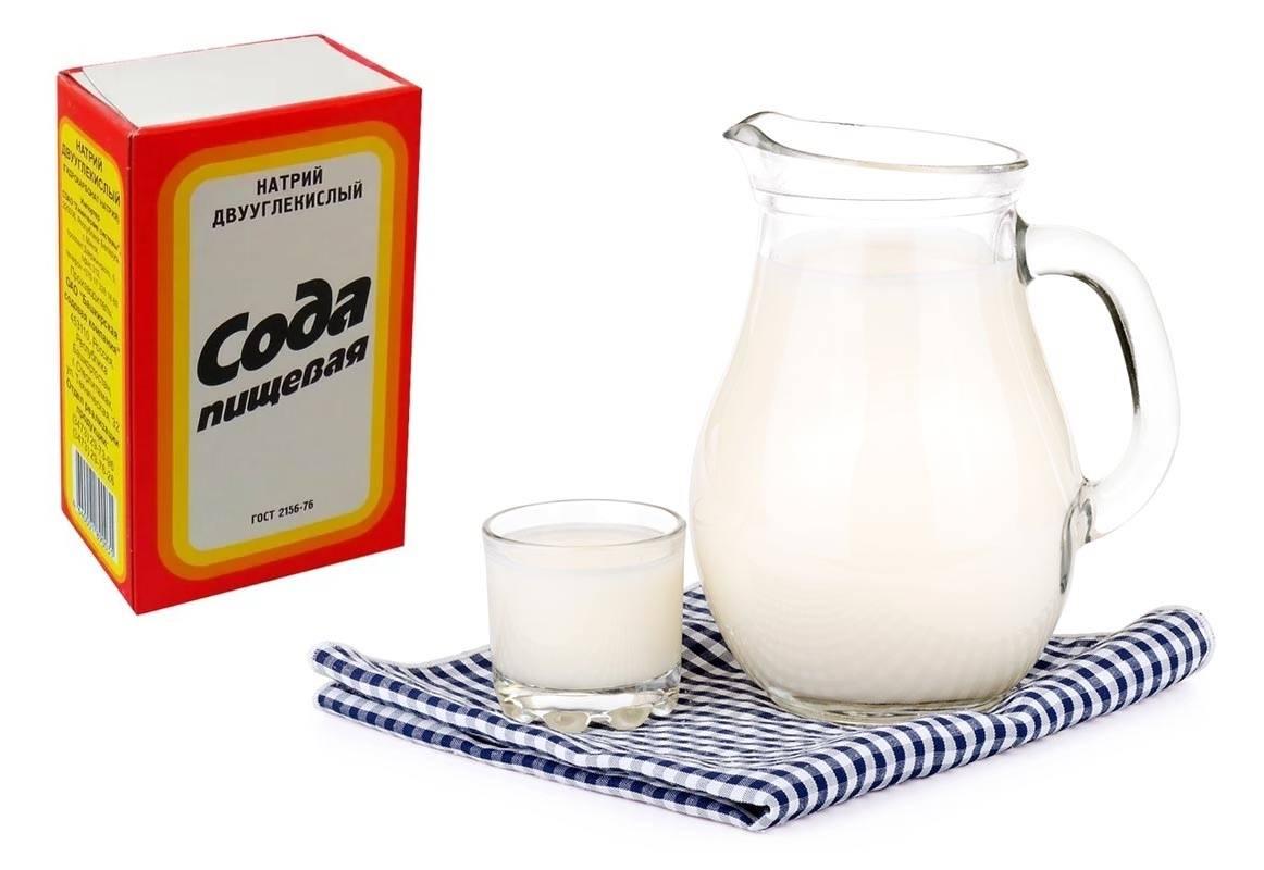 Молоко с содой от кашля, рецепты взрослому и ребенку