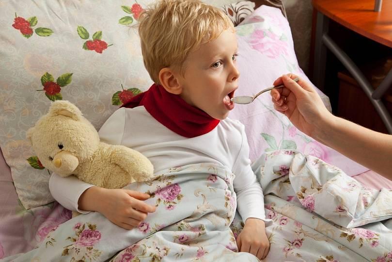 ребенок сухой кашель
