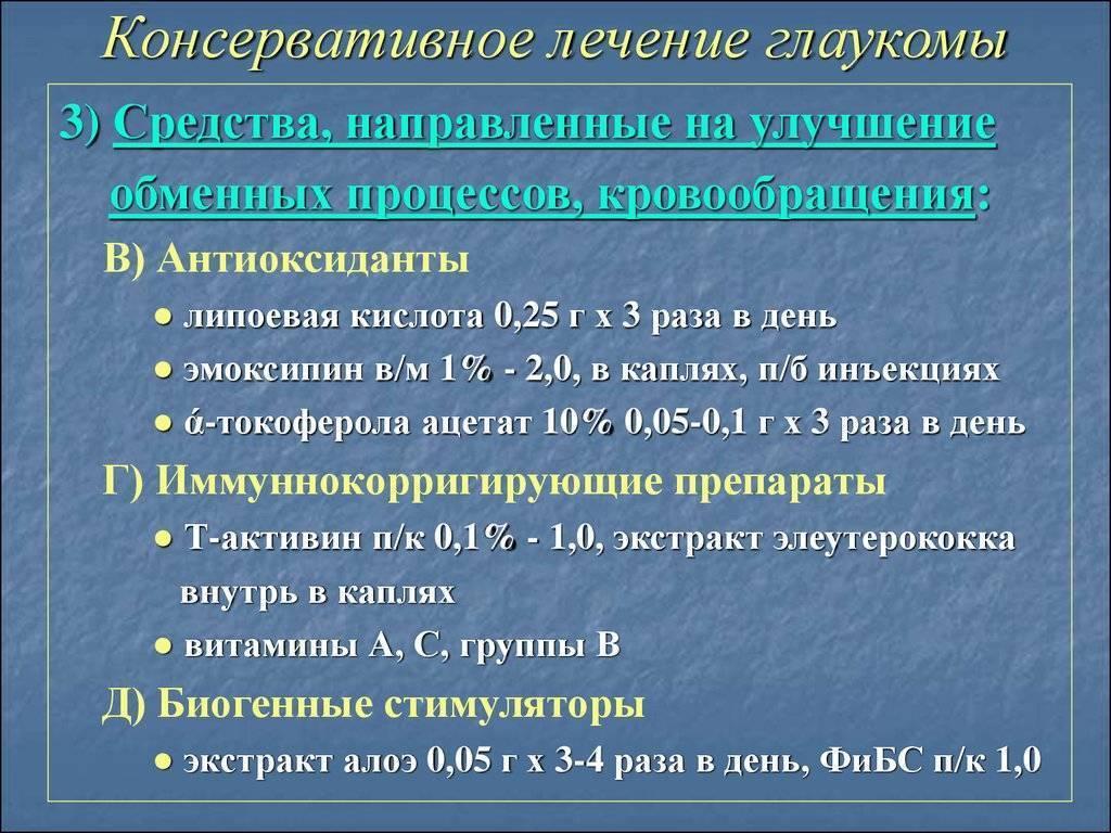 глаукома народные средства